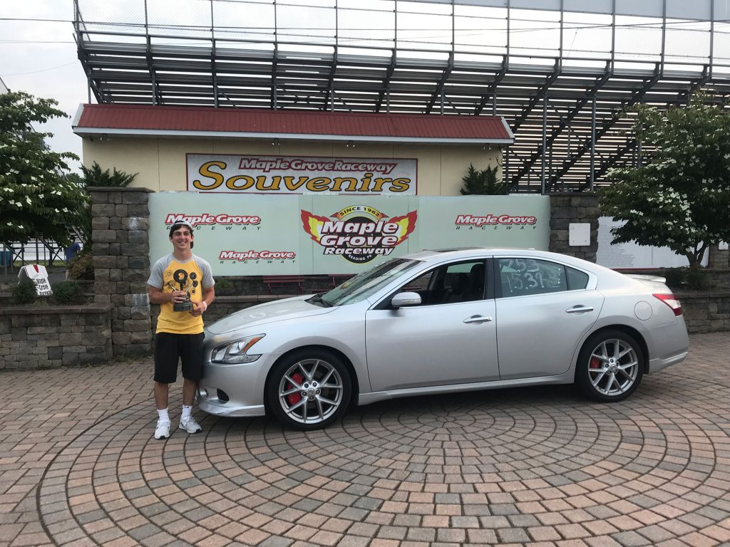 Nick Marra of Downingtown PA in his 2009 Nissan